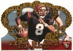 Jeff Blake # 125 - 1996 Pacific Crown Royale Football