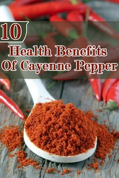 Health Benefits Of Cayenne Pepper: Cayenne pepper has anti- inflammatory, anti- allergen, anti-fungal and anti-irritant properties.