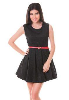 Spring Fling Jacquard Dress