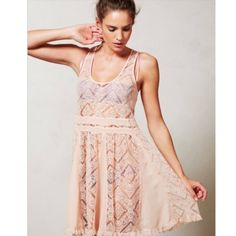 Anthropologie st. Regis slip Hardly worn St. Regis slip from anthropologie Anthropologie Dresses Midi