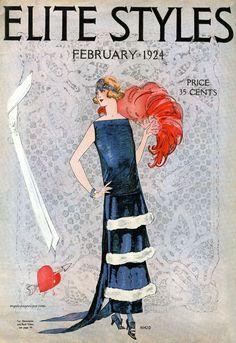 Elite Styles February 1924
