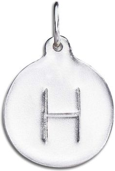 Helen Ficalora 'H' Alphabet Charm * Check out the image by visiting the link. (This is an affiliate link) #JewelryForWomen