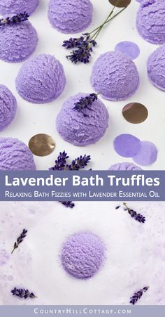 Learn how to make DIY lavender bubble bath bar scoops for a spa experience! Easier than bath bombs and a great homemade gift idea. Homemade Bath Bombs, Lip Scrub Homemade, Homemade Soap Recipes, Homemade Gifts, Bubble Bath Bomb, Lush Bath Bombs, Bubble Baths, Bubble Bar Recipe, Savon Soap