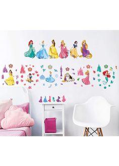 Merveilleux Disney Princess Wall Stickers   Pack Of 77 Disney Princess Bedroom, Princess  Bedrooms, Cute