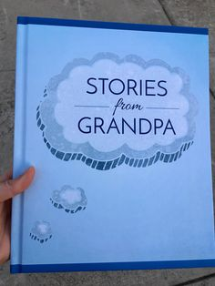 """A fantastic gift for a first time grandmother, thismemory book allows grandchildren to get to know their grandmother better with questions like """"Where did you grow up? What was the first hou…"""