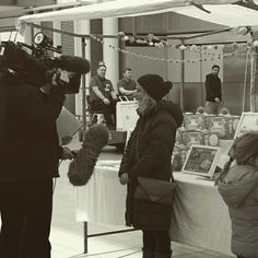 BBC News interview one of our pop up biz owners - The Rainy Day Box Co.