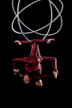 Triple aerial hoop? Nucleus? What do you call this? apparatus thingymabob
