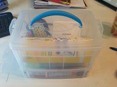 O is for Organize.: Car Organization Kit