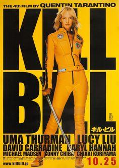 Kill Bill: Vol. 1 2003 Japanese B2 Poster