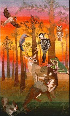 Linda Weghorst, For the Pines, Fauna