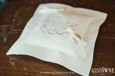 Poduszka na obrączki / Wedding ring pillow