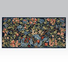 Merton Abbey Panel - Ehrman Tapestry. inspired by original material in the Victoria and Albert Museum. William Morris