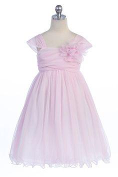 92ec002bfa0 Flower girl! Coral Flower Girl Dresses