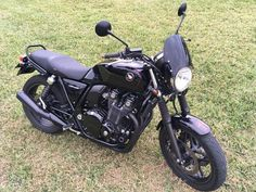 """""""When I bought my CB it already had a clear Dart fly screen on it, and because of the look I was ."""" -Nelson C. Honda Cb1100, Custom Bikes, I Fall In Love, Motorcycle, Classic, Stuff To Buy, Blue Prints, Derby, Motorcycles"""