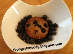 Foody Schmoody...I'm JUST Cooking: Coconut Oil Blue Banana Muffins