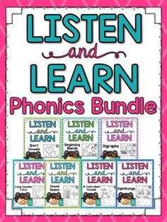 Listen and Learn {Phonics Bundle}
