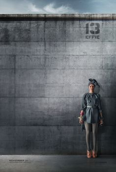 Finding a new purpose in District 13, Effie Trinket. #OurLeaderTheMockingjay
