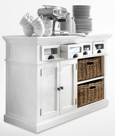 Don't let a single soup spoon go missing thanks to the Nova Solo Halifax Kitchen Buffet . This beautiful buffet is a massive storage option that. Dining Buffet, Kitchen Buffet, Buffet Cabinet, Kitchen Stools, Round Kitchen, Top Furniture Stores, Cheap Furniture, Online Furniture, Kitchen Furniture