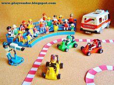 Playmobil Go Cart Race