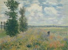 "https://www.facebook.com/Claude.Monet.MiaFeigelson.Gallery  ""Poppy Fields near Argenteuil"" (1875) By Claude Monet, from Paris (1840 - 1926)  - oil on canvas; 54 x 73.7 cm; 21 1/4 x 29 in - [Impressionism] © The Metropolitan Museum of Art, New York The Walter H. and Leonore Annenberg Collection, Gift of Walter H. and Leonore Annenberg, 2001, Bequest of Walter H. Annenberg, 2002 http://www.metmuseum.org/ https://www.facebook.com/metmuseum"