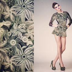 #kociara #printadress #spoonflower #textile #fabric design #print design #illustration #floral #flowers #fashion #embroidery #vector | Flick...