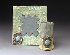 Love the variety of texture & glaze.