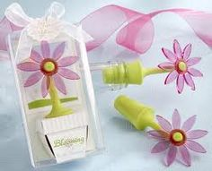 Cute party favor idea = Blooming flower - bubbles plus seed packets.. the symbolism is not lost on me :)