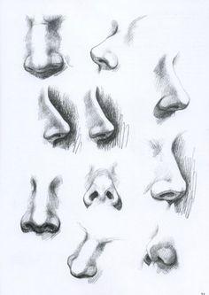 Karakalem Mükemmel Çizimler ( Baş,göz,kulak,burun vb.. )