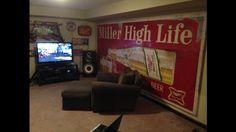 Miller High Life Beer sign Billboard