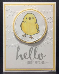 Stampin days; honeycomb happiness, hello, Stampin' UP!
