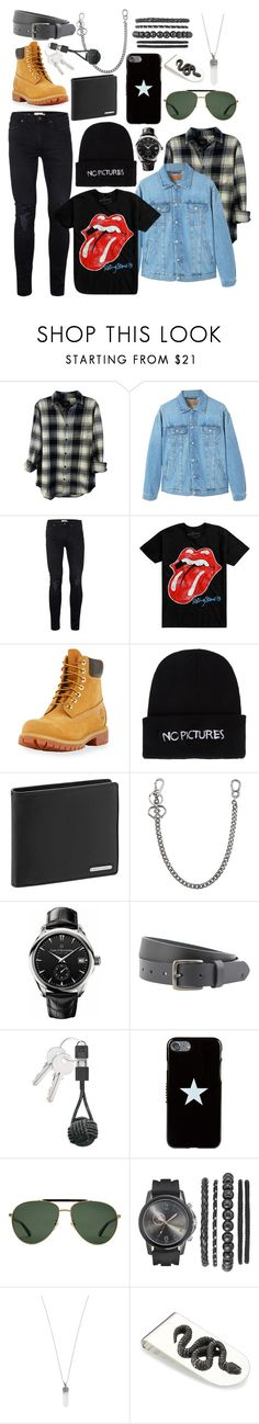 """""""The Bad Boy #2"""" by army-4-life on Polyvore featuring Rails, MANGO, Topman, Hot Topic, Timberland, Nasaseasons, Porsche Design, Dsquared2, Carl F. Bucherer and Peter Werth"""