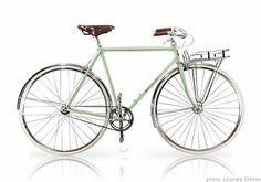 Porteur ADV Bike Poster, Urban Bike, Bike Chain, Bicycle Art, Style Retro, Fixed Gear, Vintage Bicycles, Recycling, Paris