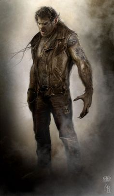 Werewolf 3 by ~aaronsimscompany — x — [Random Creatureat CfD]