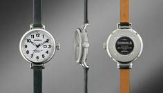 Made in Detroit. THE BIRDY 34mm Green Leather Watch | Shinola®