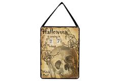 One Kings Lane - All Hallows' Eve - Countdown to Halloween Sign
