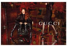 Designer Frida Gianinni  Photographer Mert Alas and Marcus Piggott  Models Karmen Pedaru, Lenz von Johnston, Nadja Bender     Shop online at http://www.setipiacipiaci.com/pinterest/gucci