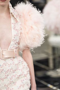 Chanel at Couture Spring 2017 - Details Runway Photos