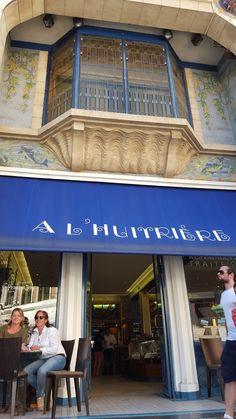 Lille: drankjes en oesters bij Bar A Huitriere