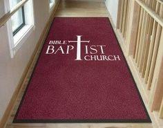 Bible Baptist Church Custom Logo Mat