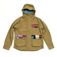 Patch Work Mountain Parka