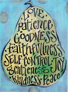 fruit of the spirit painting