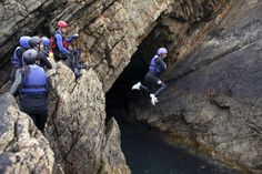 (PHOTO: Doug McKinlay via Getty Images) UK bucket list: Things to do in Britain before you die:  Take the plunge on a coasteering adventure in Pembrokeshire  Adventure types shouldn't miss Wales' breathtaking Pembrokeshire coast where you can try coasteering, an activity first developed by surfers and kayakers in the 1980s. It involves working your way along the coastline at sea level by climbing, diving, swimming, scrambling and rock hopping. With stunning views, dramatic coastline and...