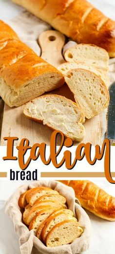 Homemade Italian bread is easy to make and delicious! You could buy a loaf from … Homemade Italian bread is easy to make and delicious! You could buy a loaf from the grocery store, but baking Italian bread is fun, pure comfort food! Italian Bread Recipes, Italian Cooking, Pan Cetogénico, Homemade White Bread, Homemade Breads, Pain Keto, Comfort Food, Keto Bread, Baking Recipes