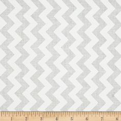Riley Blake White on White Small Chevron from @fabricdotcom  Designed by RBD Designers for Riley Blake Designs, this cotton print fabric is perfect for crafts, quilting, apparel and home décor accents. The chevron stripe is vertical to the selvedge.