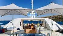 MY MARY JEAN II - The Sundeck  #sunshades #yachtingline #vela www.yachtingline.it