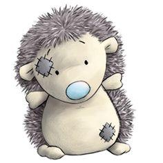 Konker the Hedgehog - clip art Genny Charles                                                                                                                                                      More