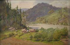 """Henry Hodge's Ranch"" Albert Thomas DeRome"