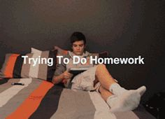 Trying to do homework.  Heck, just about everything now a days.