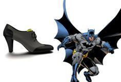 Des chaussures inspirées des personnages de comics