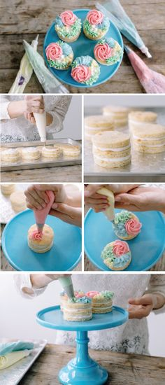 With this recipe for Spring Mini Cakes, you can whip up beautiful dessert treats with floral frosting decorations for your friends and family. If you're anything like us then you agree that cake is always a good idea!
